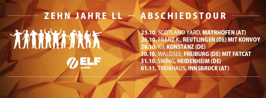 Lingua Loca Abschiedstour Dates